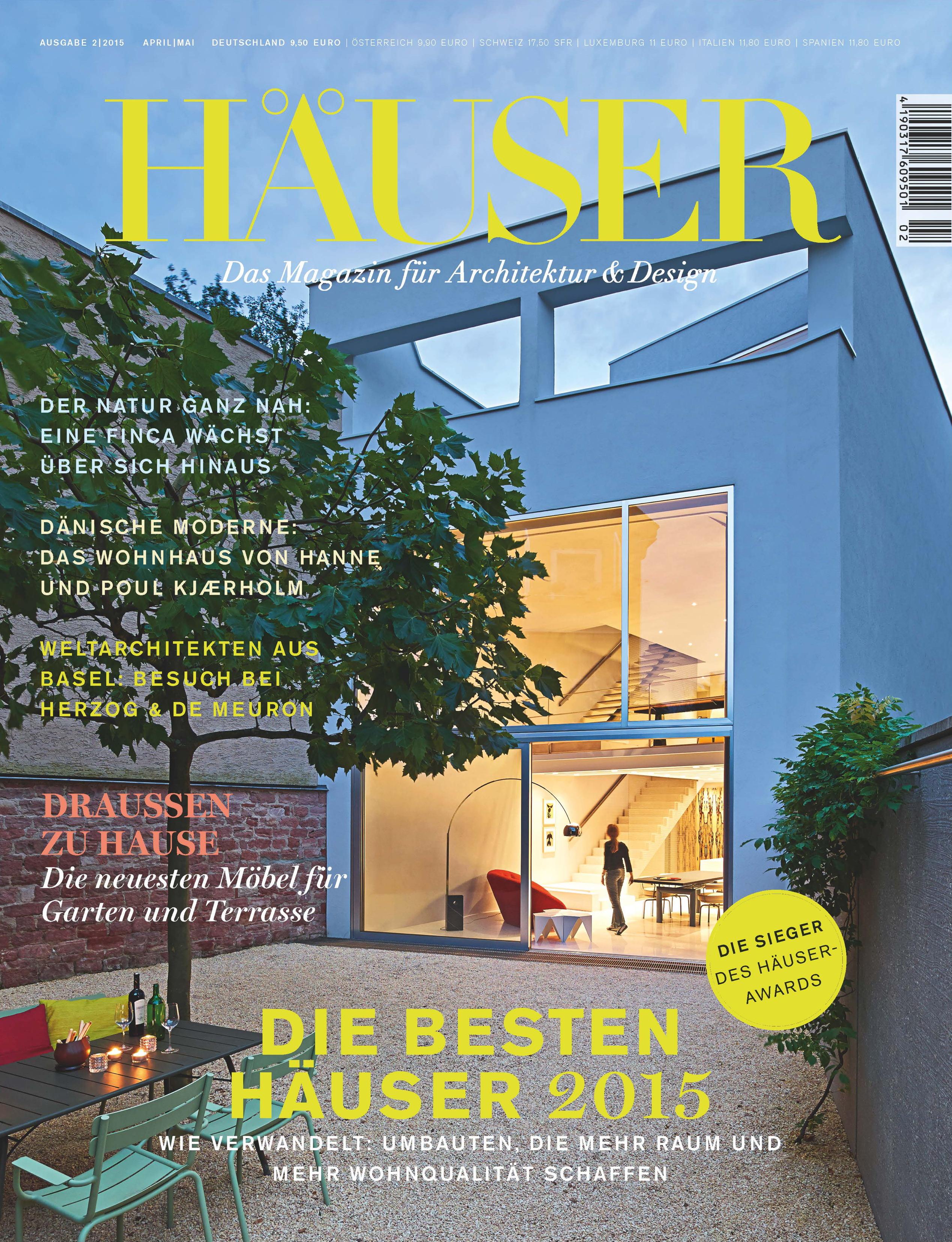 Häuser award 2015 die besten umbauten erweiterungen und modernisierungen die siegerobjekte stehen