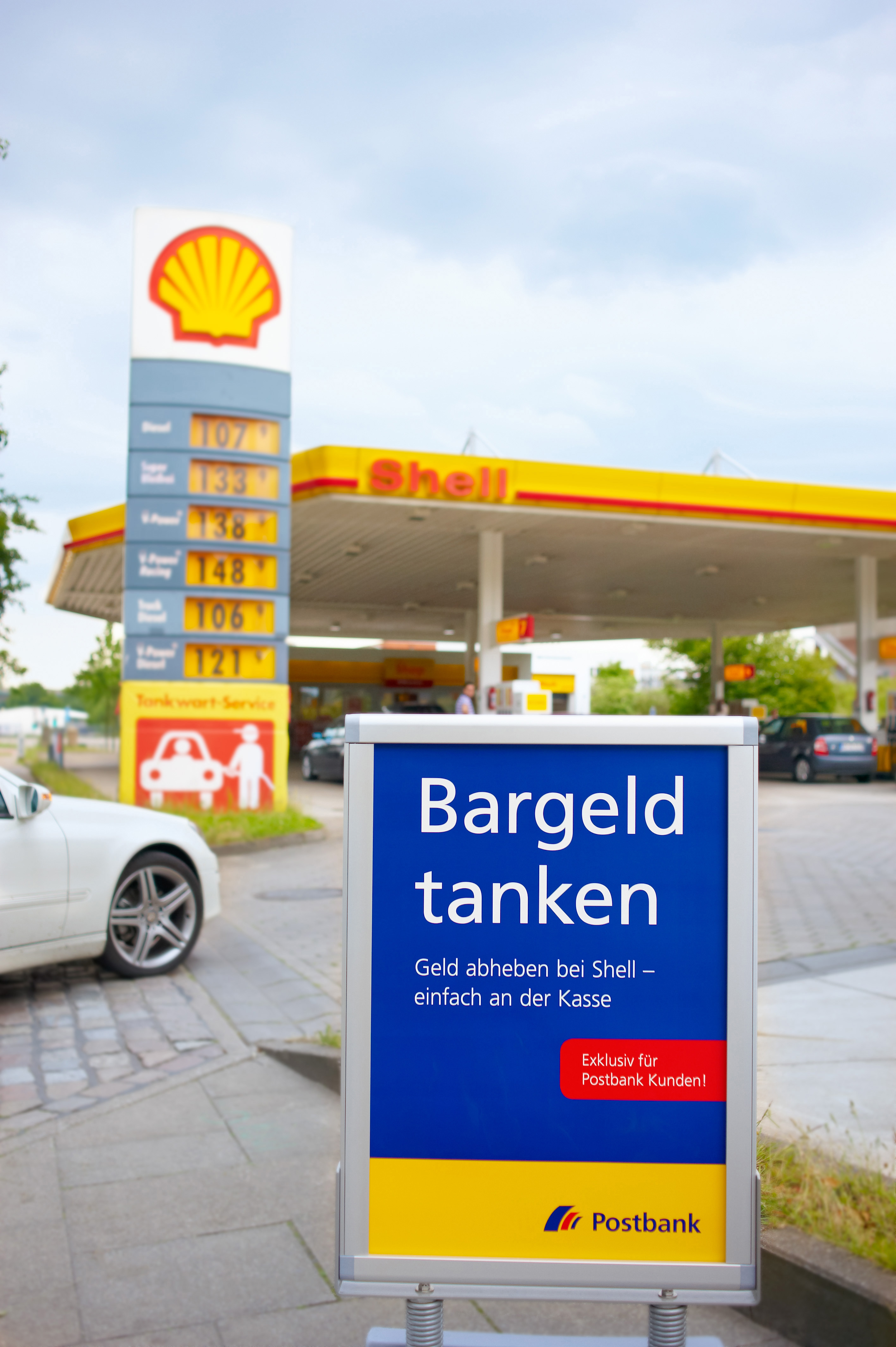 shell rabatt postbank