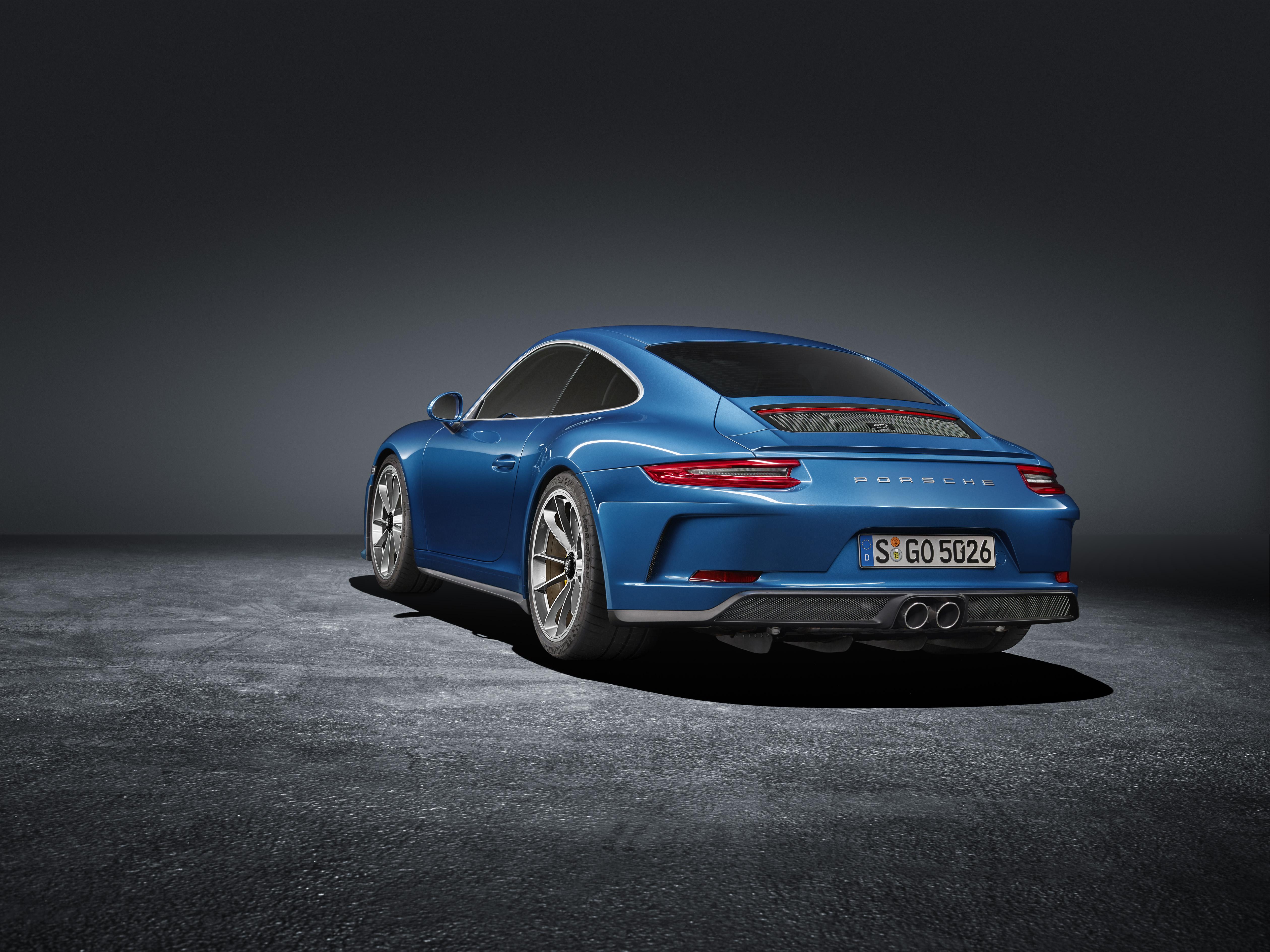 Porsche 911 GT3 Touring Package : La GT3 perd son aileron
