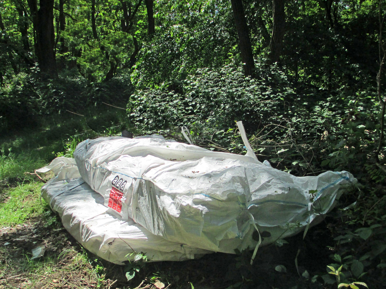 pol da nauheim unbekannte entsorgen asbestplatten in waldgebiet zeugen gesucht. Black Bedroom Furniture Sets. Home Design Ideas