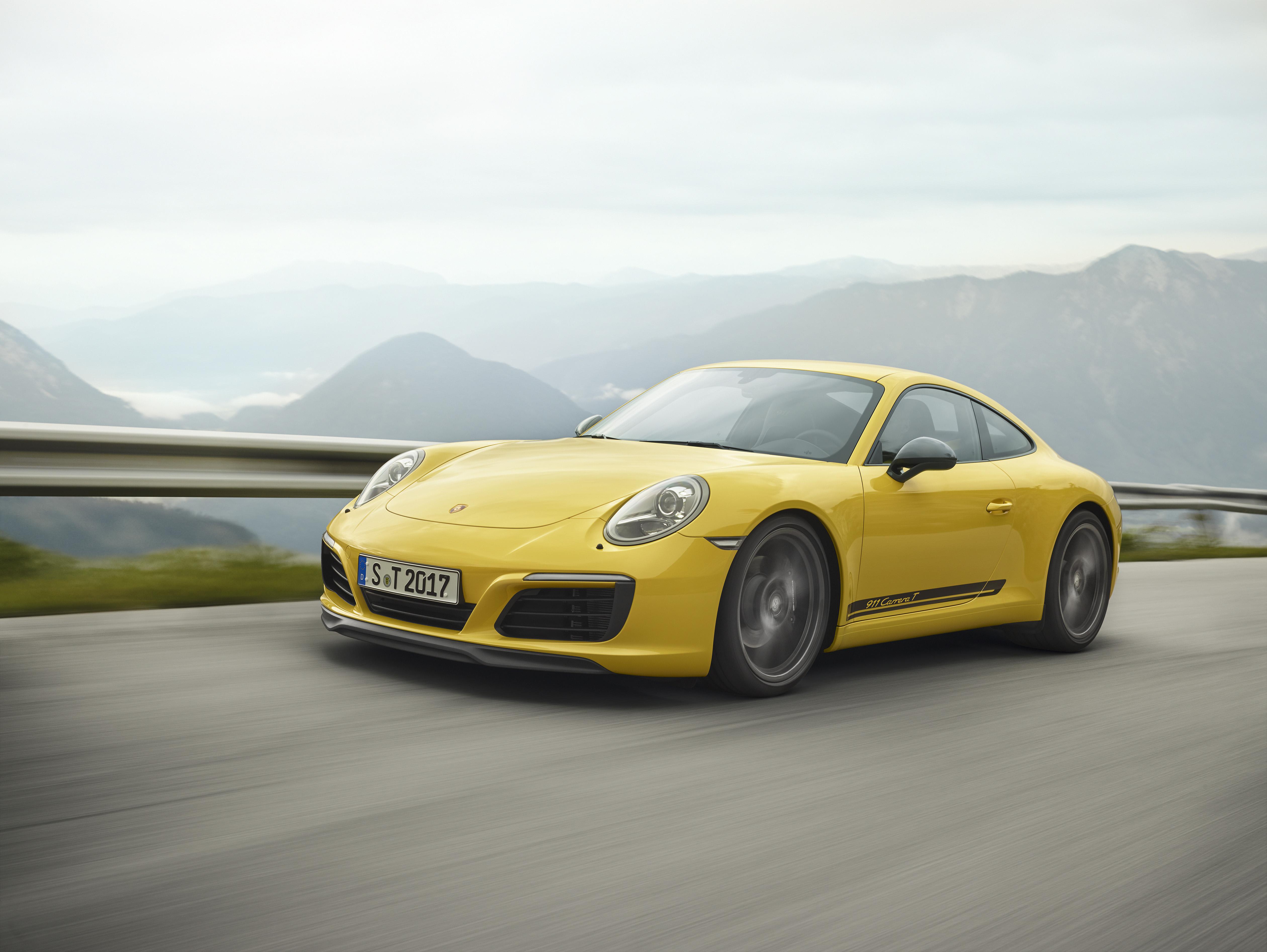 Moins, c'est plus - la nouvelle Porsche 911 Carrera T