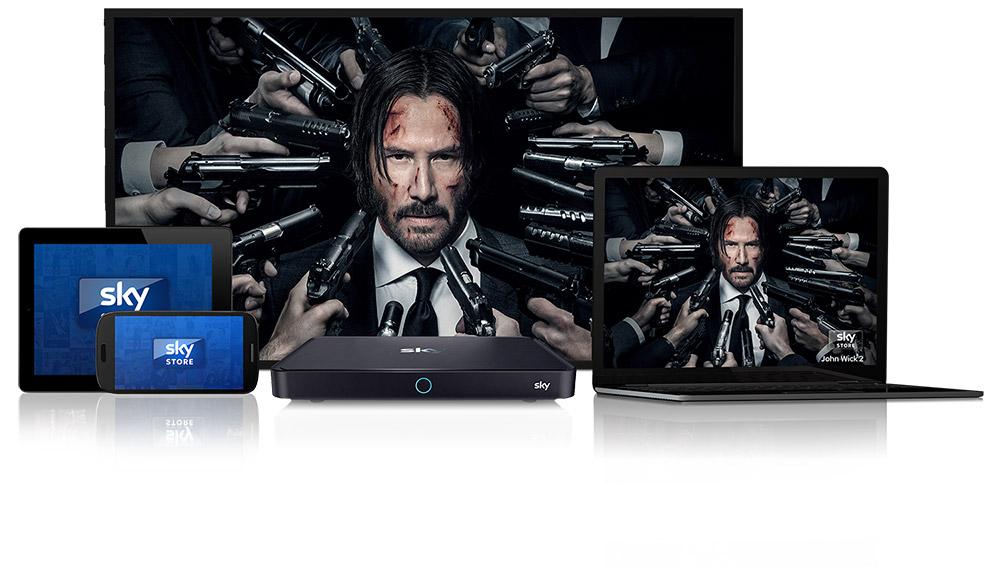 Sky verkauft Streaming-Filme auf DVD und Blu-ray