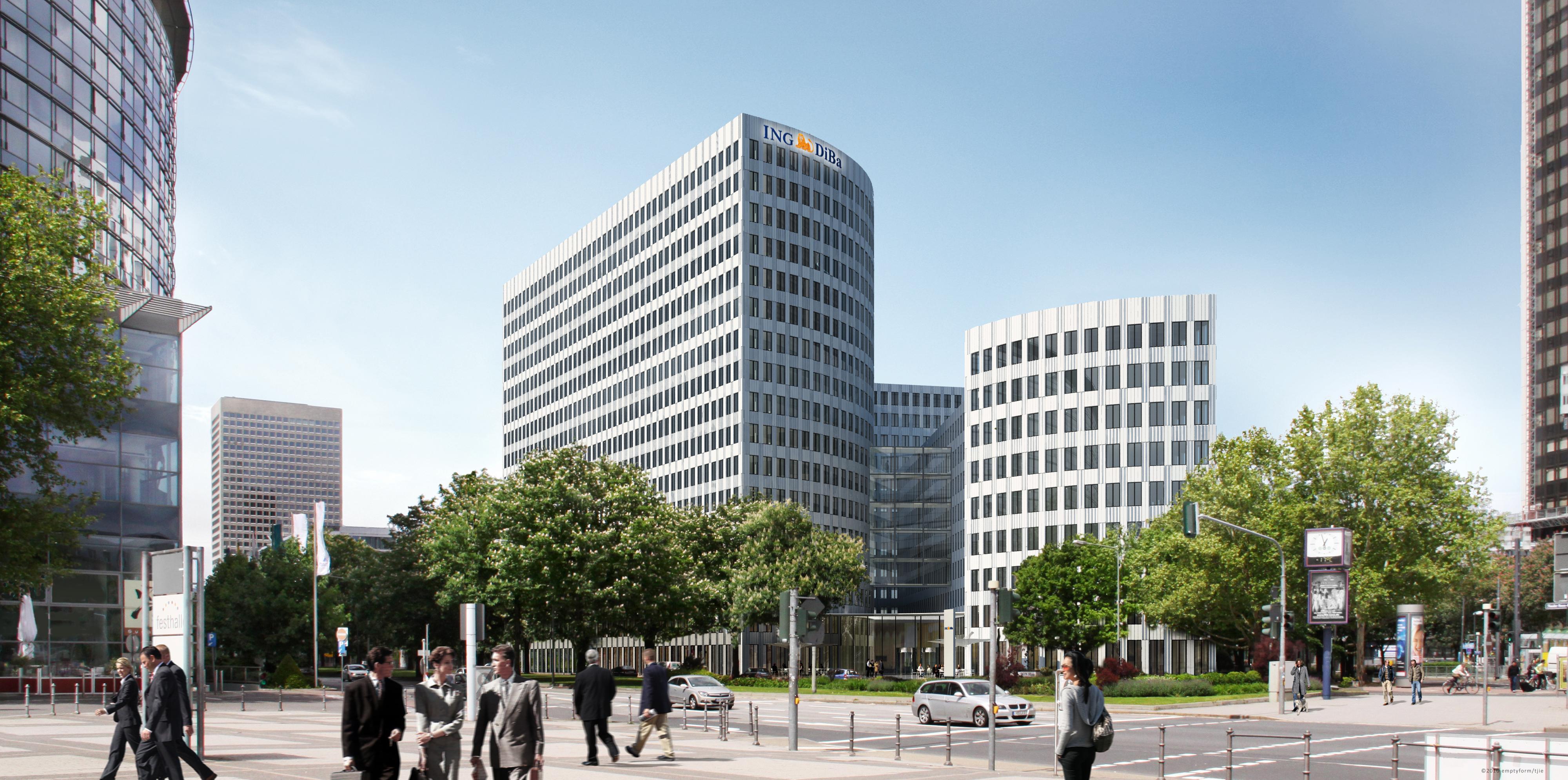 klares bekenntnis zum standort frankfurt ing diba bezieht im sommer 2013 neuen hauptsitz 1. Black Bedroom Furniture Sets. Home Design Ideas