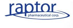 Raptor Pharmaceutical Corp.