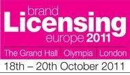 Brand Licensing Europe 2011