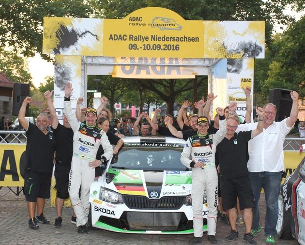 DRM: Kreim/Christian stehen nach tollem Sieg in Niedersachsen vor dem Titelgewinn mit SKODA AUTO Deutschland