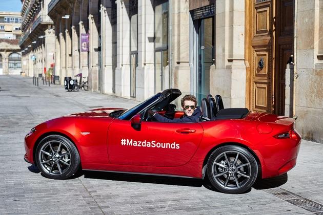 """Mazda spielt """"Sound of tomorrow"""""""