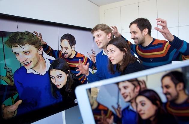 HPI Hasso-Plattner-Institut: CeBIT: HPI-Forscher wandeln Videos und Fotos gleich in Comics um / App macht jeden zum digitalen Künstler