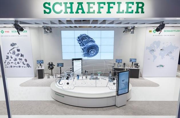 Schaeffler: Mobilität für morgen: Schaeffler auf der North American International Auto Show 2016 / Systemkompetenz bis ins kleinste Detail