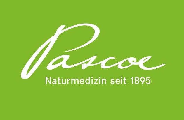 Pascoe Naturmedizin: Neues Logo für Pascoe Naturmedizin / Mit der Unterschrift des Gründervaters Friedrich Pascoe in eine grüne Zukunft