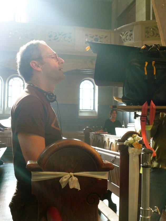 Spielfilmregisseur Dani Levy dreht ersten Werbefilm