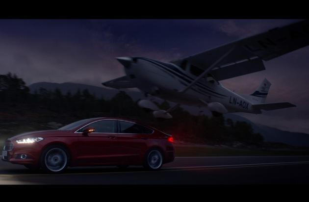 """Ford-Werke GmbH: Start des TV-Spots """"Nachtflug"""" für den neuen Ford Mondeo - inszeniert von Kult-Regisseur Rob Cohen"""