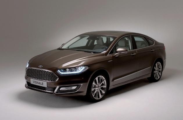 Ford-Werke GmbH: Serienversion des Ford Vignale Mondeo ab Mai bestellbar