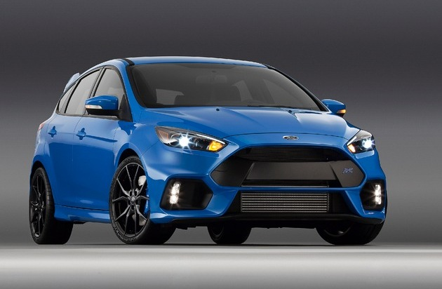 Ford-Werke GmbH: Ford Focus RS kommt Anfang 2016 nach Europa