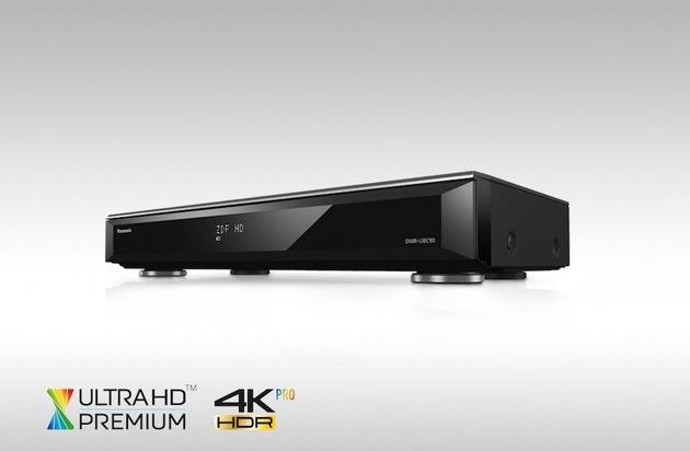 BILD: Panasonic präsentiert die ersten Videorecorder für das UHD Zeitalter / DMR-UBS90 für Satellit und DMR-UBC90 für Kabel und DVB-T2 HD (FOTO)