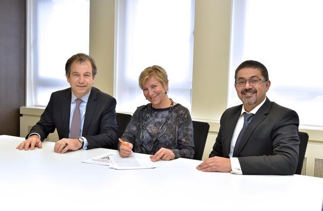 Spannen zusammen  PwC Schweiz und Equal Salary Stiftung  FOTO