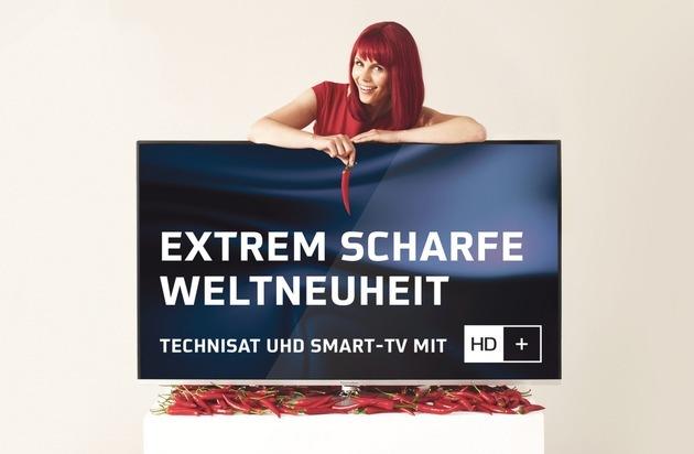 HD PLUS GmbH: Ultra scharfe Bilder, ultra einfacher Zugang: TechniSat und HD+ kooperieren bei der Entwicklung von TV-Geräten