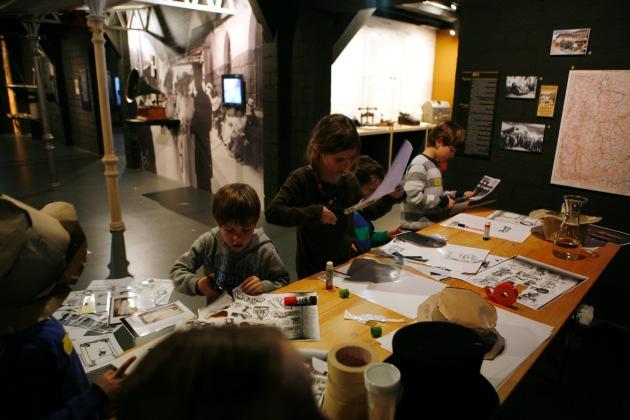 Winterzeit = Museumszeit / Winterangebote im Bahnmuseum Albula (BILD)