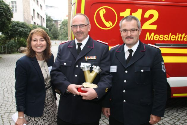 FW-LFVSH: Feuerwehr Timmendorfer Strand wird Bundessieger bei Ideenwettbewerb