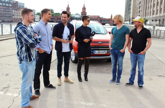 Ford-Werke GmbH: Große Ford EcoSport Challenge endete mit exklusivem Konzert von Frida Gold in Berlin