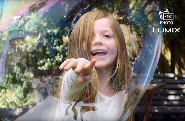 Panasonic Deutschland: Panasonic startet mit TV-Spot ins Weihnachtsgeschäft / Mit der neuen 4K Foto-Funktion bewirbt Panasonic eine neue Ära der Fotografie