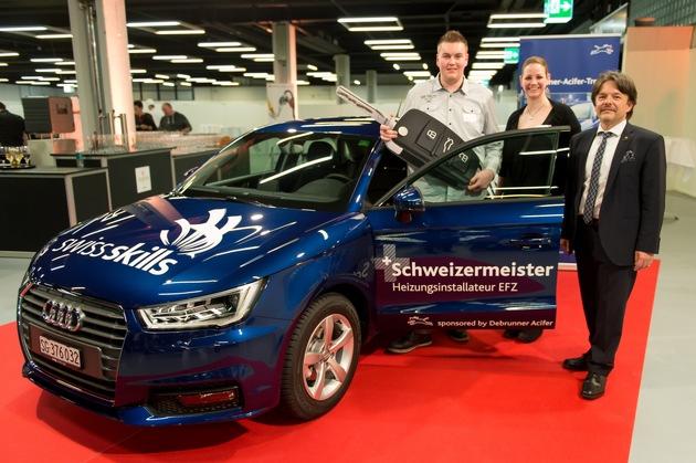 Mario Eggerschwiler vince il Debrunner Acifer Trophy