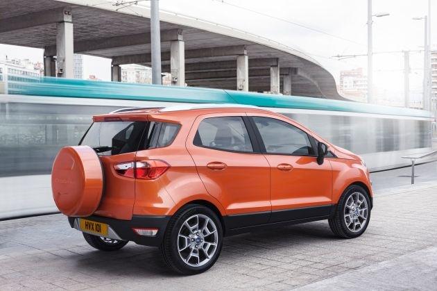 Premiere: Ford enthüllt die europäische Version des neuen Ford EcoSport auf dem Mobile World Congress