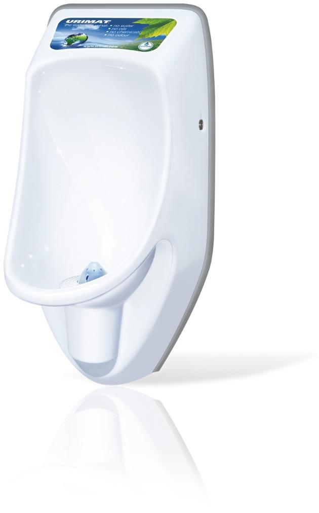 URIMAT spendet wasserlose Urinale im Erdbebengebiet in Japan