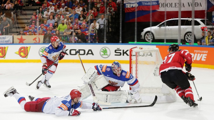 Rekord: SKODA zum 24. Mal Hauptsponsor der IIHF Eishockey-Weltmeisterschaft