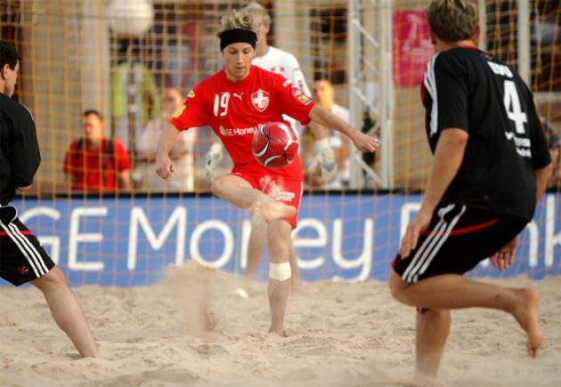 Auftakt der GE Money Bank Beach Soccer Tour 2007 in Winterthur