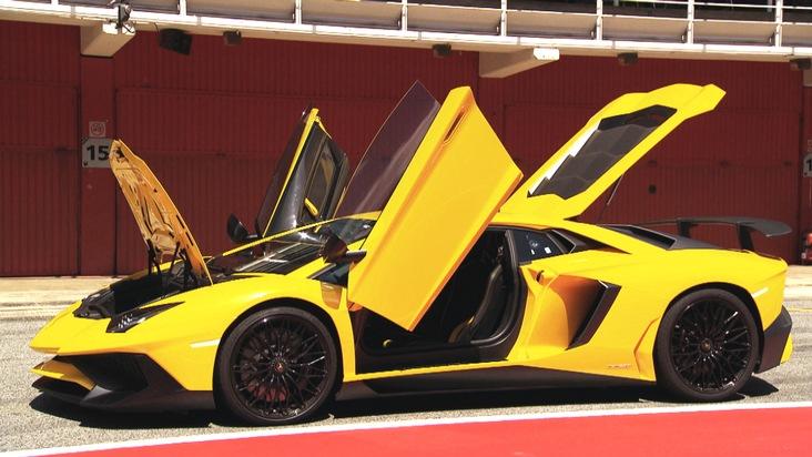 Was ist die Steigerung von Lamborghini? GRIP testet den neuen Lamborghini Aventador SV