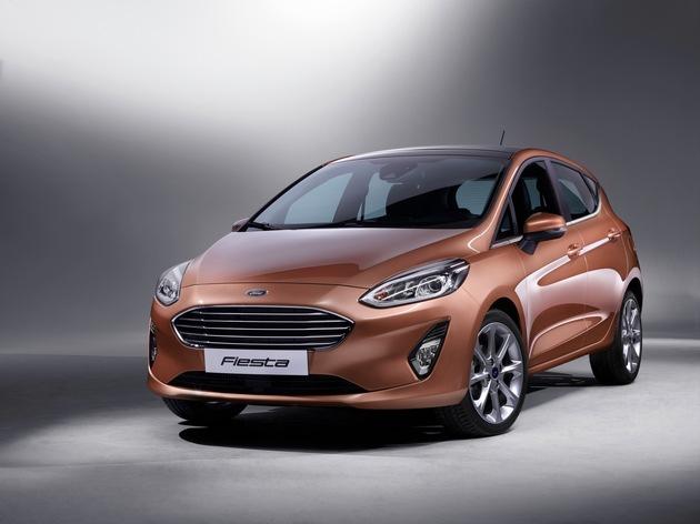 Der neue Ford Fiesta: Der technologisch fortschrittlichste Kleinwagen der Welt ist so vielseitig wie noch nie