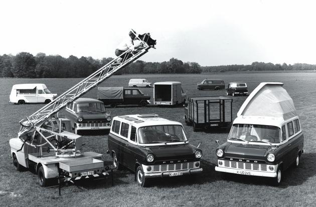Ford-Werke GmbH: Ford Transit - seit 50 Jahre im Dienst zum Wohle der Kunden