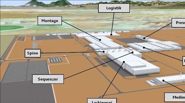 Audi ag grundsteinlegung f r neues werk in san jos chiapa mexiko crop