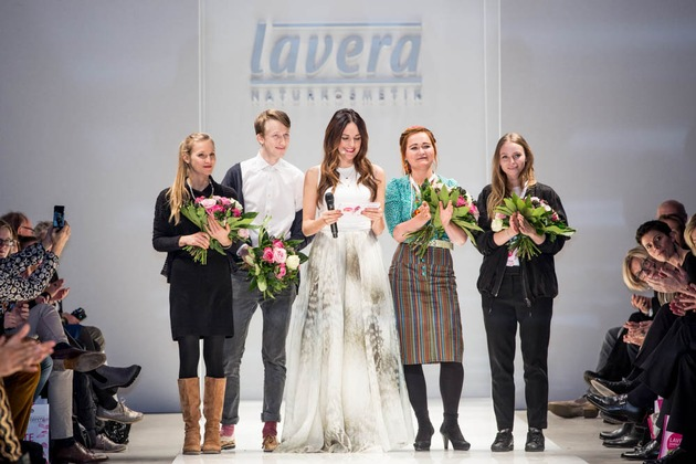 Hollywood zu Gast beim lavera Showfloor auf der Berlin Fashion Week
