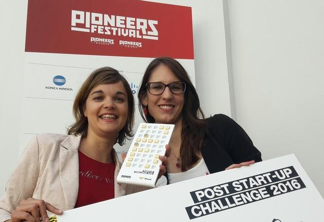 erdbeerwoche gewinnt Post Startup Challenge am Pioneers Festival 2016 - BILD