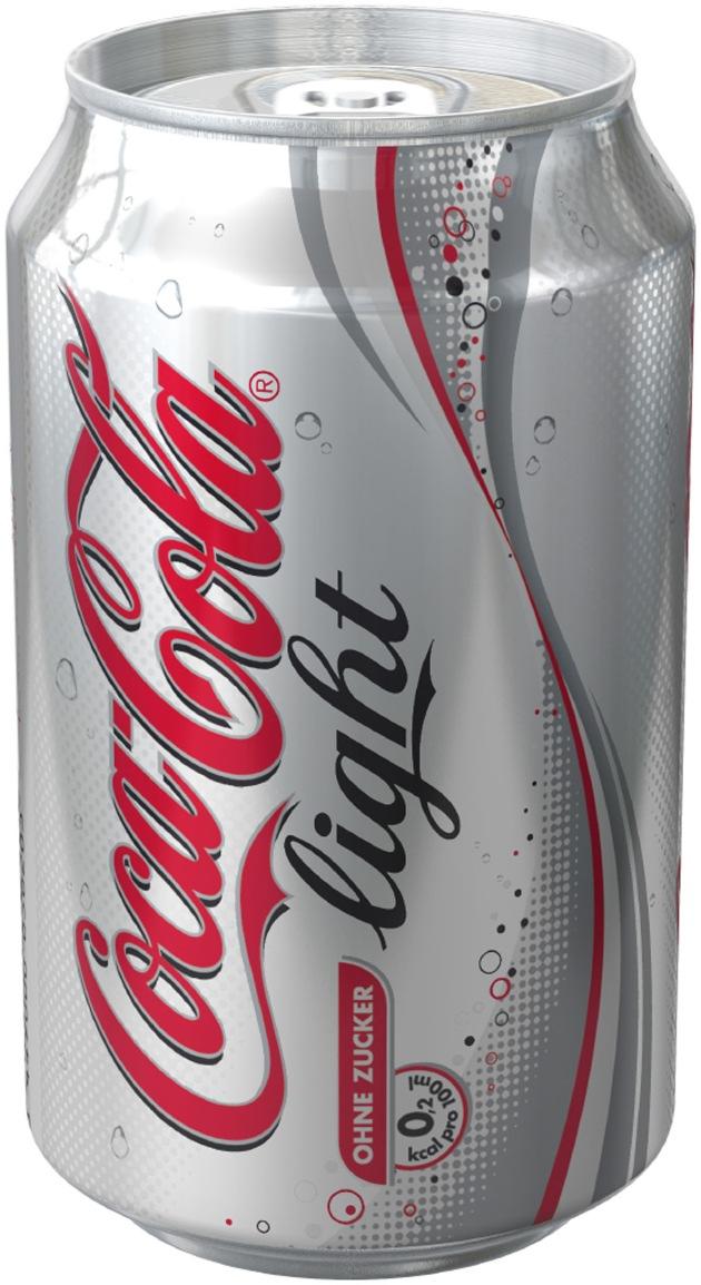 Coca-Cola light feiert 25. Geburtstag
