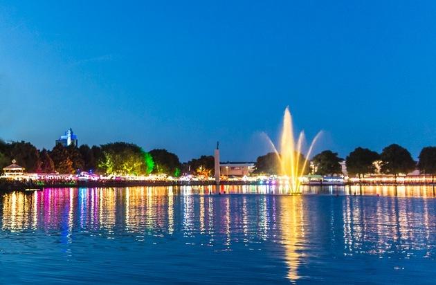 Hannover Marketing und Tourismus GmbH: Halbzeitbilanz: Bislang über 1,1 Millionen Besucher beim Maschseefest 2015 in Hannover