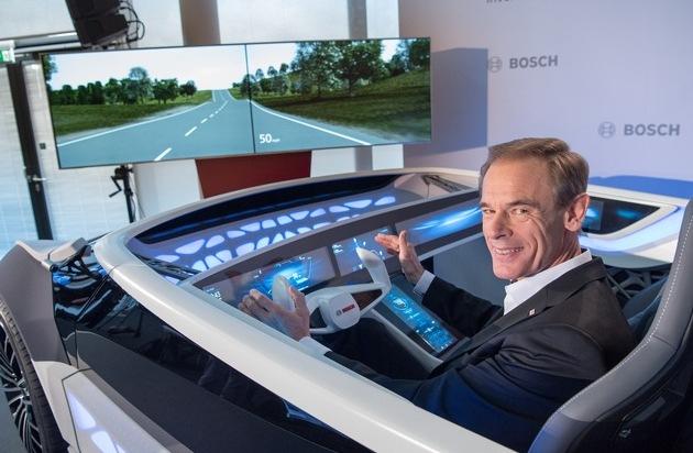 Robert Bosch GmbH: Nach Rekordjahr: Bosch bleibt auf Wachstumskurs / Services ergänzen verstärkt Produktportfolio