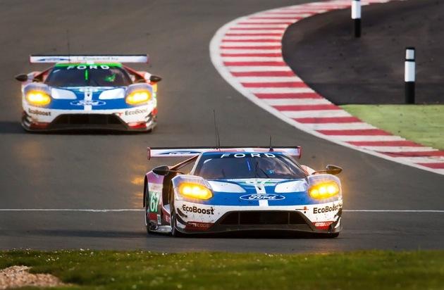 Ford-Werke GmbH: Ford will beim Sechs-Stunden-Rennen auf dem Nürburgring weitere wichtige WEC-Punkte sammeln