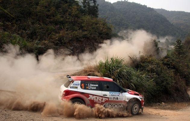 SKODA gewinnt die Asia Pacific Rally Championship 2012