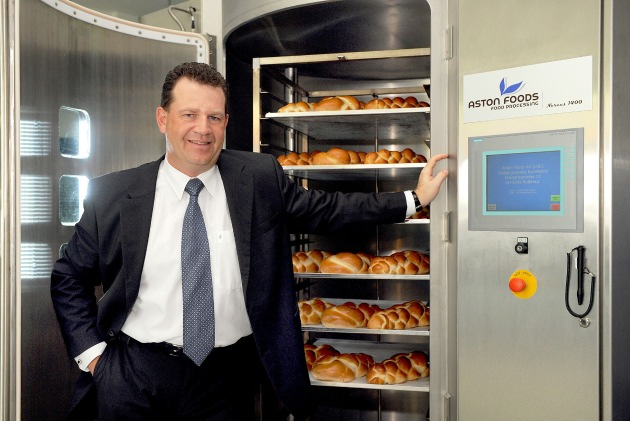Aston Foods unveils trail-blazing world premiere in vacuum cooling for baked goods