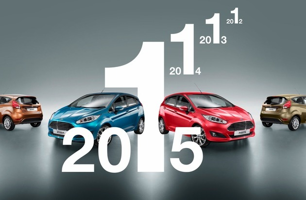 Ford-Werke GmbH: Ford Fiesta ist erneut Europas meistverkaufter Kleinwagen