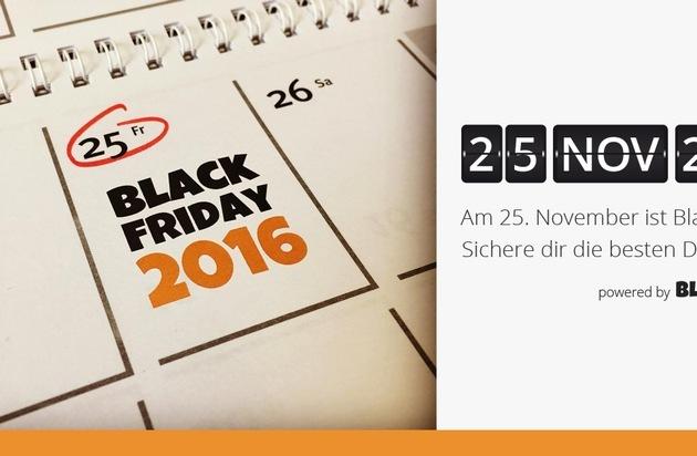 BILD: Black Friday 2016 - Die besten Deals des Jahres - Jetzt auf Black-Friday.de (FOTO)