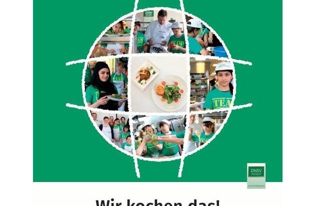 """Deutsches Netzwerk für Schulverpflegung e.V. DNSV: Schulverpflegung aktuell: DNSV Kochbuch """"Wir kochen das!"""" - Buchvorbestellung ab sofort möglich"""