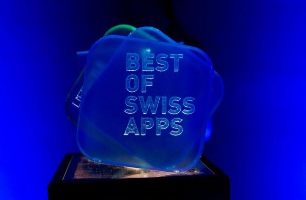 Best of Swiss Apps: «Best of Swiss Apps 2015» est lancé!