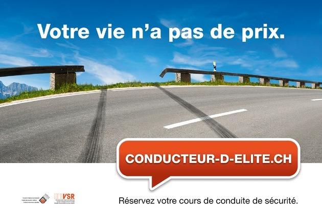 Schweizerischer Verkehrssicherheitsrat - Besserfahrer.ch: Beaucoup plus de conducteurs d'élite sur les routes suisses