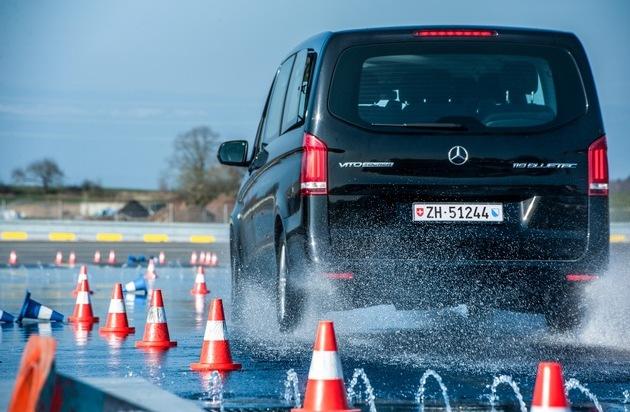 Mercedes-Benz Schweiz AG: Mercedes-Benz: Transporter Training on Tour - Pour une sécurité renforcée sur les routes