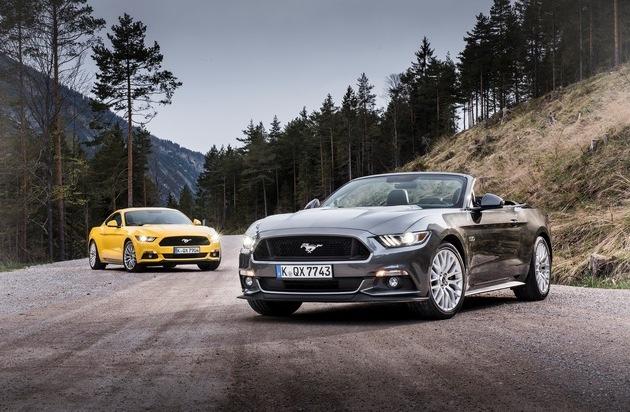 Ford-Werke GmbH: Europa-Debüt des Ford Mustang löst Händler-Ansturm aus
