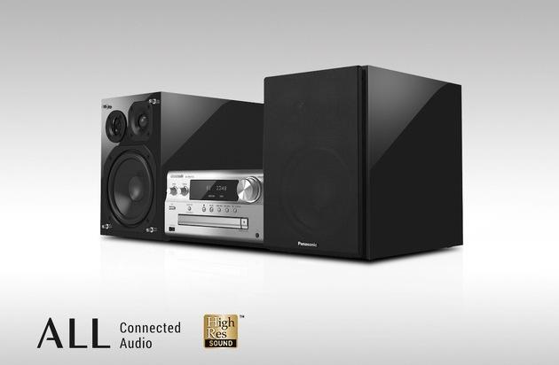BILD: Panasonic High-End Micro HiFi System SC-PMX152 / Premiumsound aus jeder Quelle (FOTO)